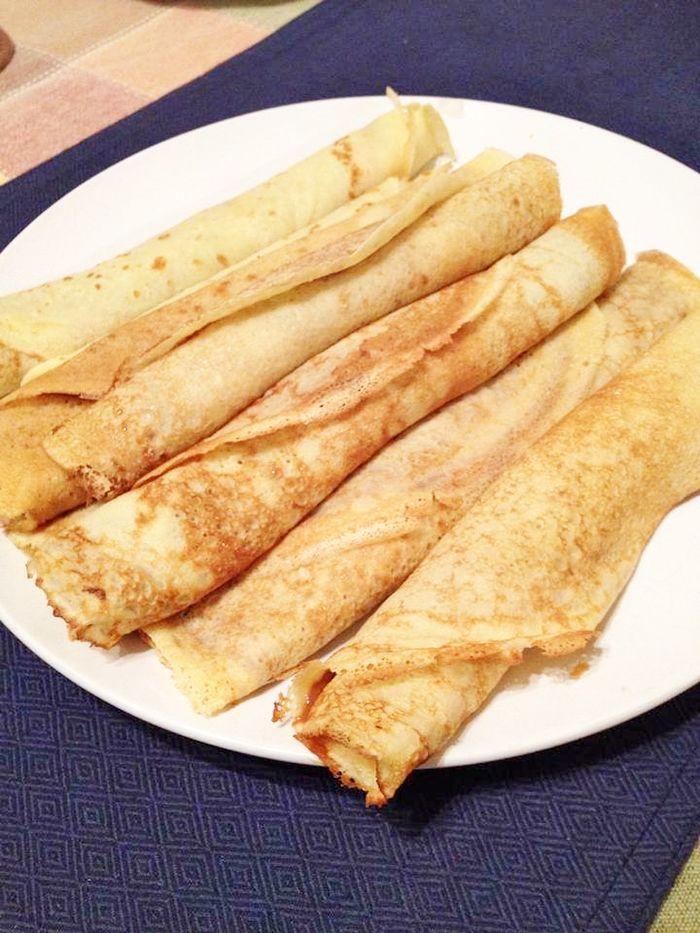 Panqueques y variantes, vea cuales son las diferencias entre panqueque, omelette y crepes.