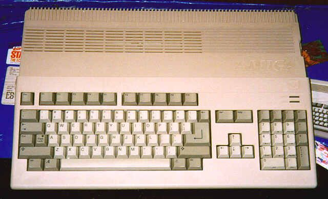 Commodore Amiga 500, my fave computer ever.