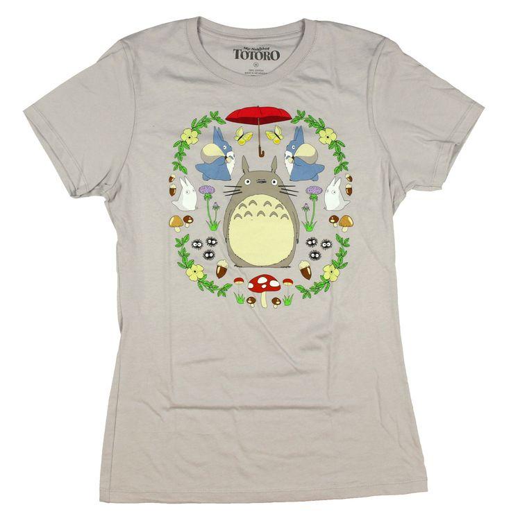Studio Ghibli Her Universe My Neighbor Totoro Dream Garden Girls T-Shirt