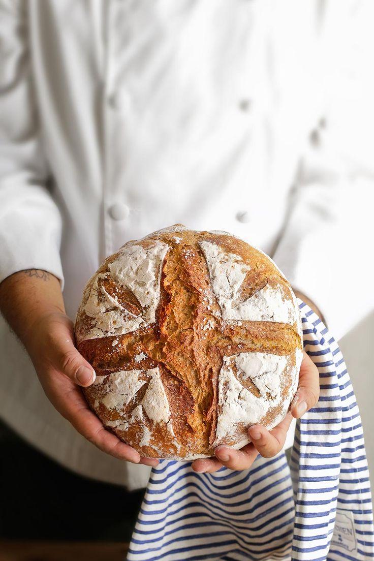 Pan de campagne receta