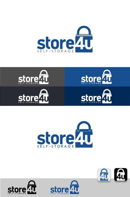 Eye-catchingly simple logo needed for our storage company, Store 4 U by Lsdes