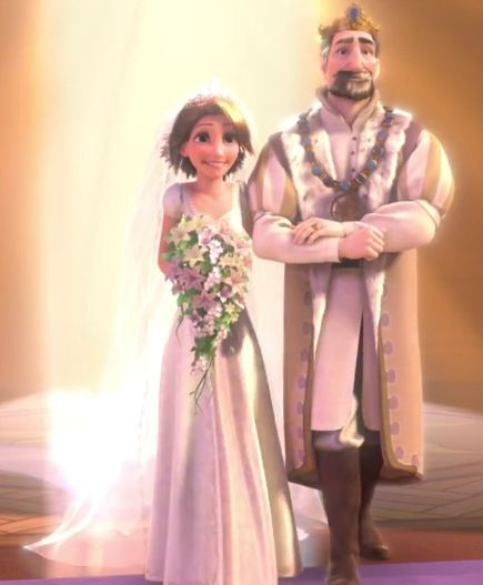 Tangled Ever After - Rapunzel and her father