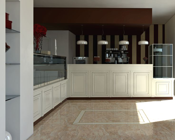 Interior solution for a bakery
