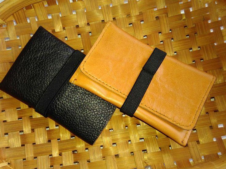 Laris card holder wallet handmade genuine leather price 250.000 rupiah indonesia