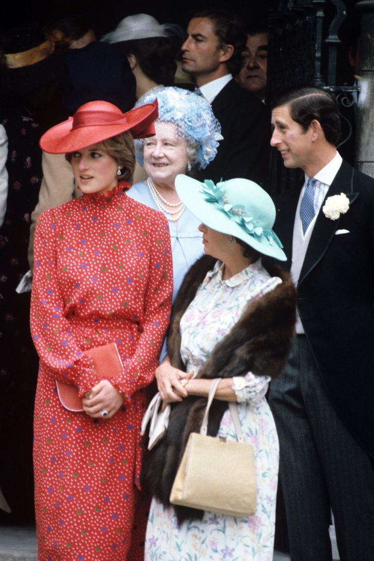 #4: Frilly necklines and cuffs suggest the lingering influence of Laura Ashley and Sloane style dressing. Allowing for the looser fit of the 80's fashions this outfit is still somewhat frumpy and does not reveal Diana's true elegance.