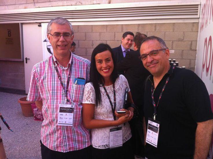 En #InspirationDay con @Alfredo Vela y Jose Barroso