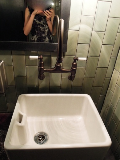 Jamie's Italian restaurant, Sydney - Bathroom