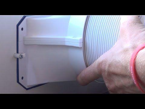 DIY AC AirLock- Hot Air Stop - Abluftschlauch im Fenster - Klimagerät Schlauch Fensterdurchführung - YouTube