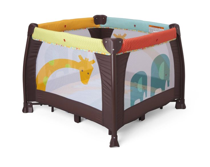Delta Children's 36″ x 36″ Playard, Novel Ideas