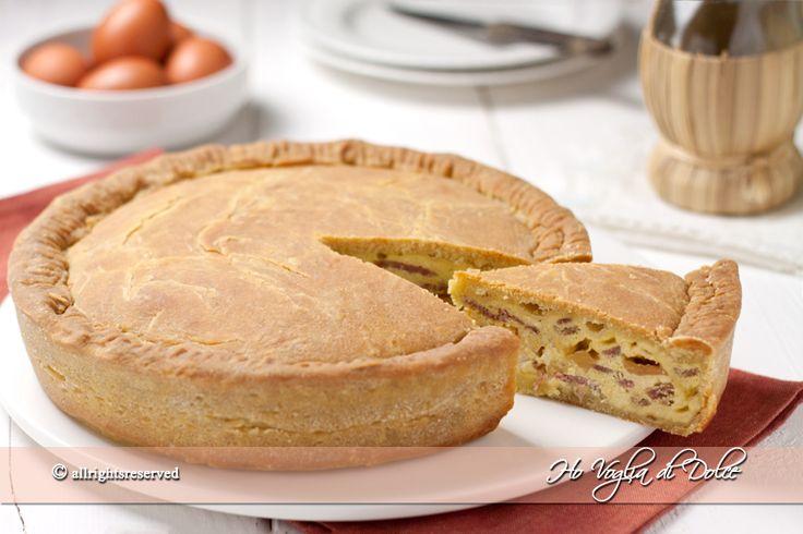 Pizza chiena, ricetta napoletana   Ho Voglia di Dolce