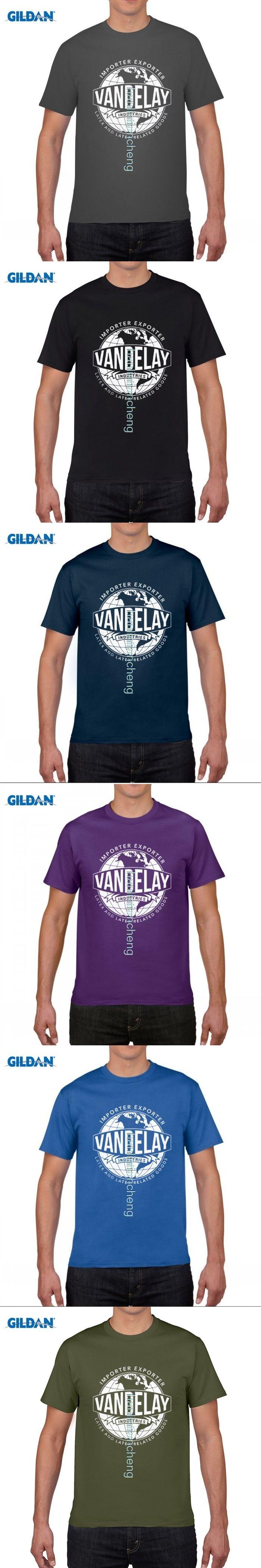 GILDAN DIY style mens t shirts Funny Vandelay Industries T-shirt-funny Shirt Seinfeld Tv Show By That Funny Shirt