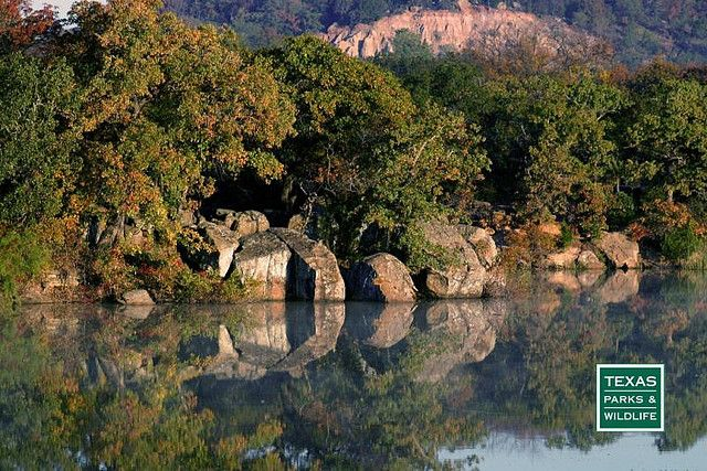 Lake Mineral Wells State Park & Trailway west of Fort Worth is known for its beautiful lake and awesome rock climbing. The 20-mile trailway  winds gently through remote farm and ranch lands and ends in a typical downtown district of an active West Texas community.