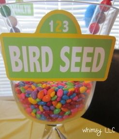 "Photo 74 of 84: Birthday ""Sesame Street Birthday Party"" | Catch My Party"