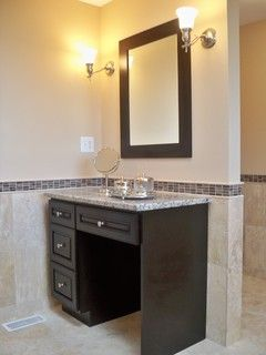 Makeup Vanity In Bathroom 18 best for the home images on pinterest | master bathrooms, iron