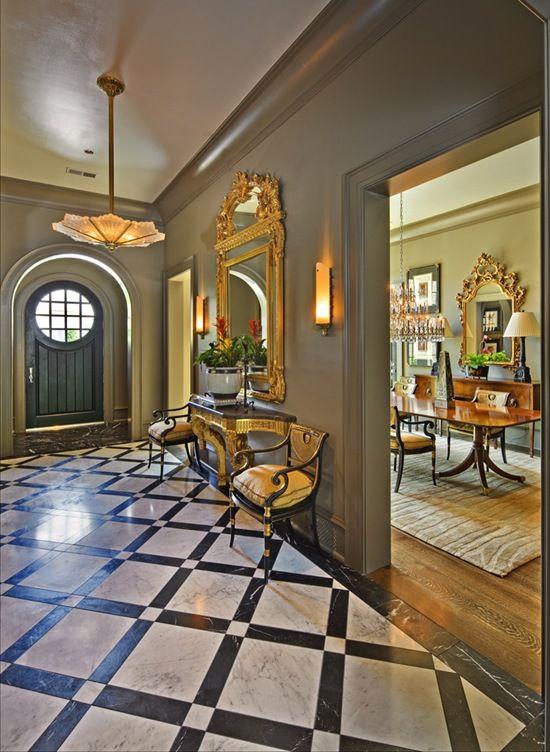 35 best entry floor ideas images on pinterest flooring for Front hall flooring ideas