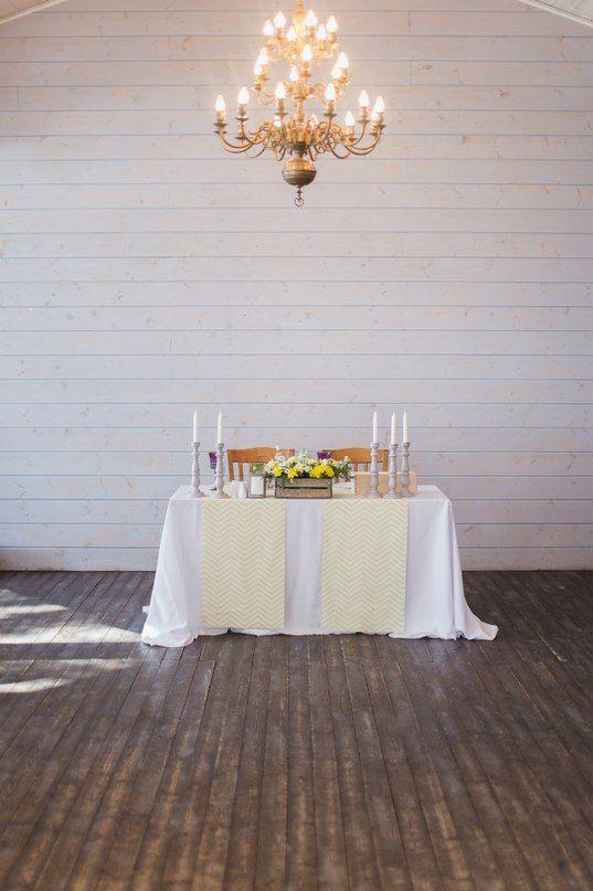 Оформление свадеб. Президиум. Накрытие.