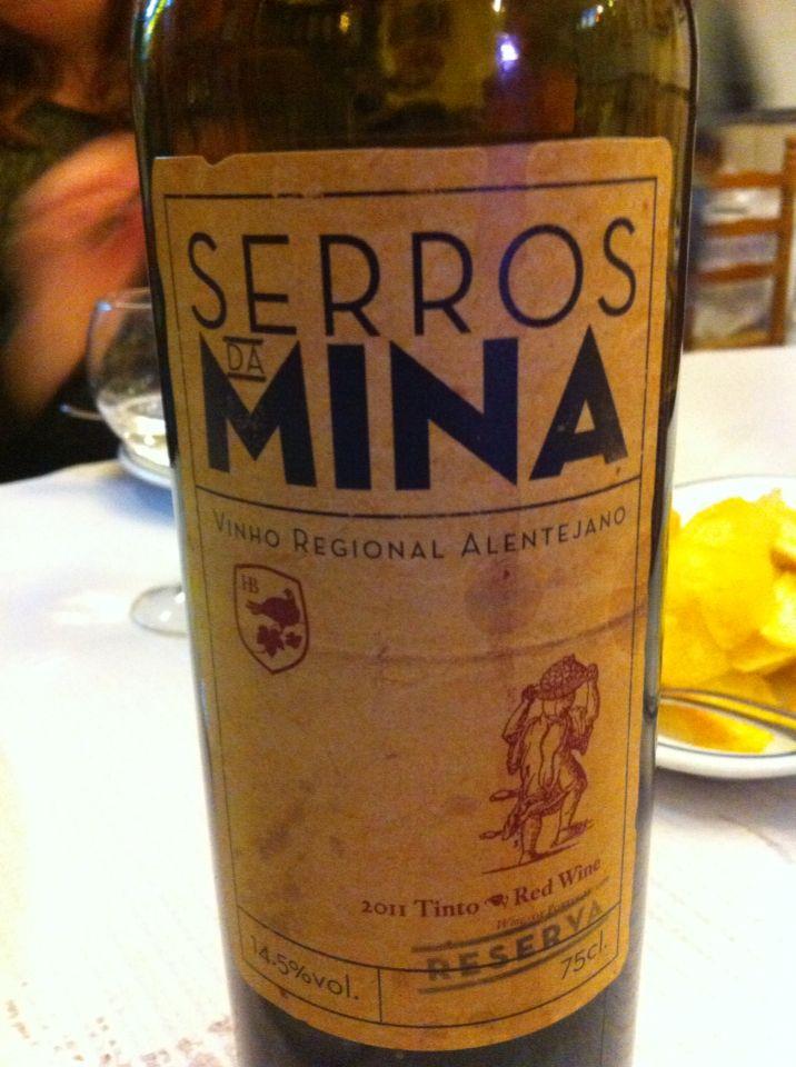 Syrah, Aragones, Trincadeira- Restaurante A Trempe, Lisboa.