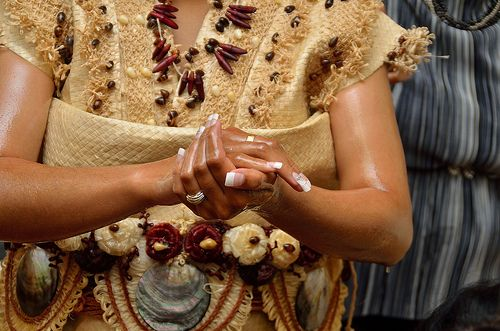 In a Tongan wedding.