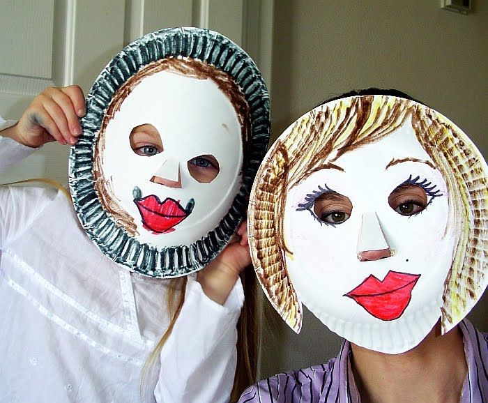 WEDNESDAY craft -  Instead of super hero masks (idea for Wednesday skit?) make masks of someone who you see as a hero in your life... who responds bravely!