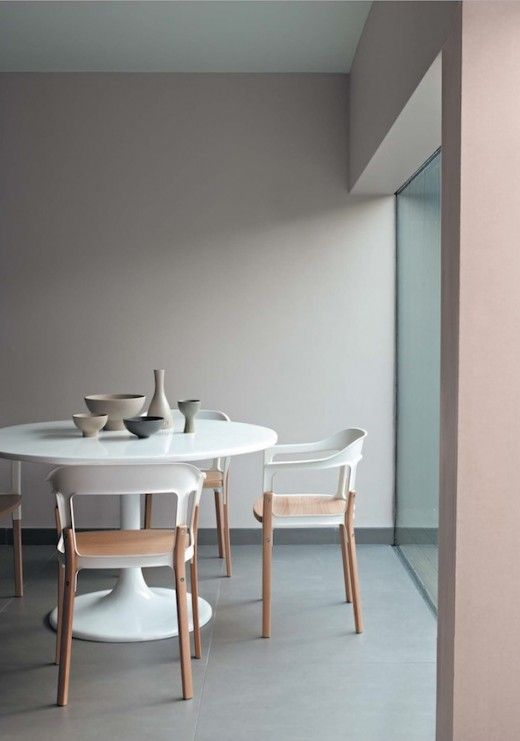 Lovely tones...soft pink & grey hues