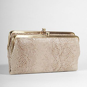 Hobo Bags 'Lauren' Wallet in Honey Snake