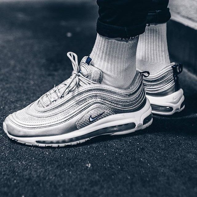nike air max 97 atlantic blue 10.5  atlantic blue voltage yellow metallic  silver sadp nikesportswear air max 97 by needlehorse use the hashtags 851b0830f