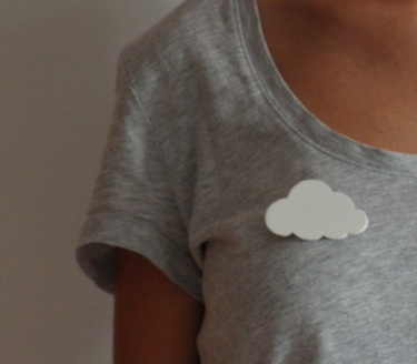 Broche nuage