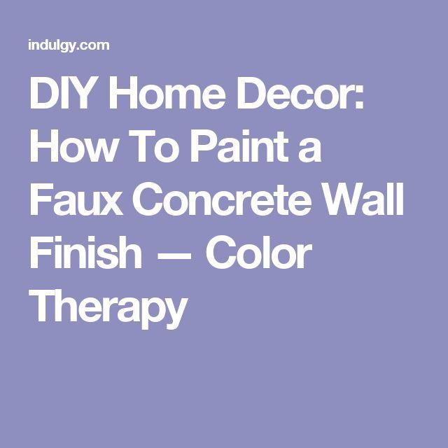 1000 Ideas About Basement Floor Paint On Pinterest: 1000+ Ideas About Painting Concrete Walls On Pinterest