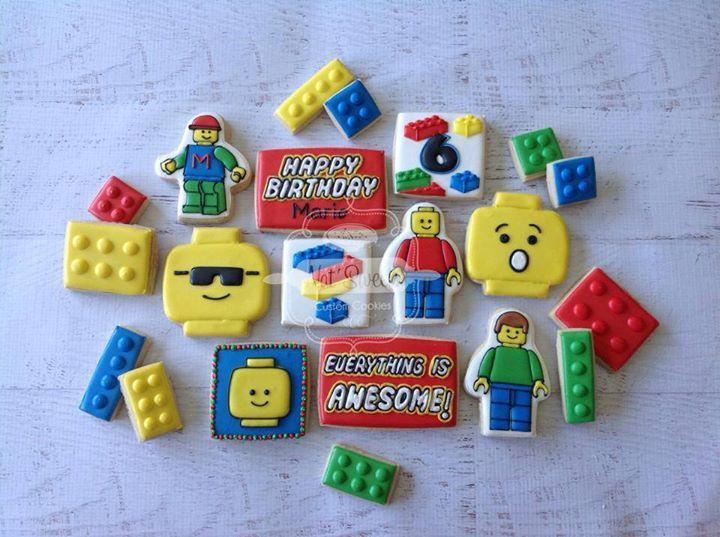 Lego cookies biscuits