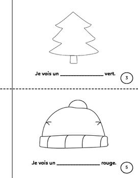 Mon livret pour l'hiver (My Book for Winter) - French Emer