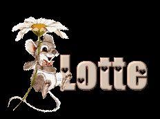 Naamanimaties en naamplaatjes van Lotte