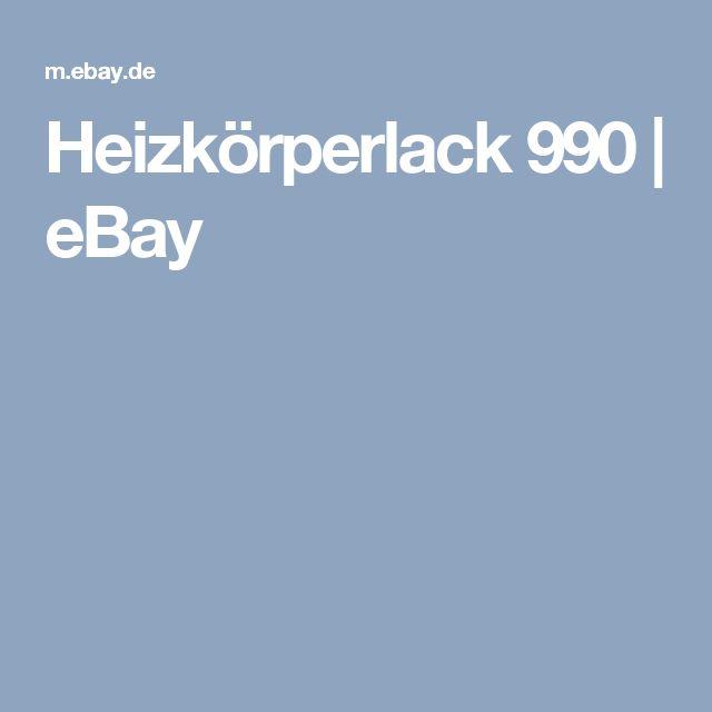 Heizkörperlack 990  | eBay