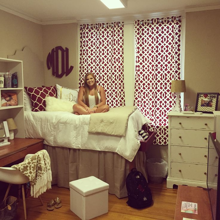 Miranda's dorm room at Meredith College!