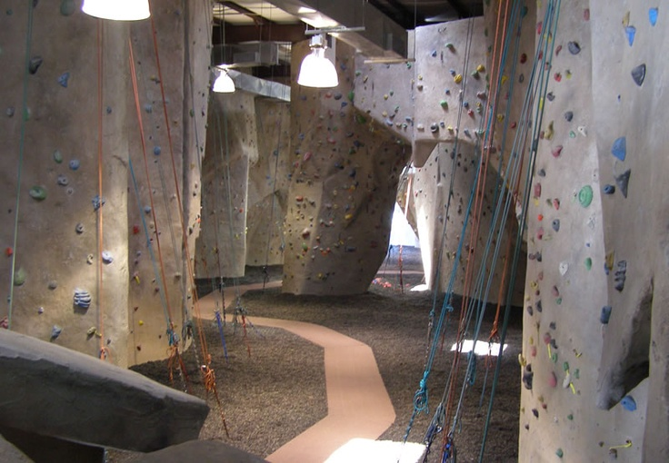 Indoor Rock Climbing, so much fun.