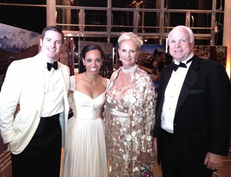 john macains son wedding | John McCains Son Marries: Jack McCain Weds Renee Swift - Picture ...