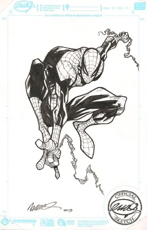 Spider-Man by Humberto Ramos