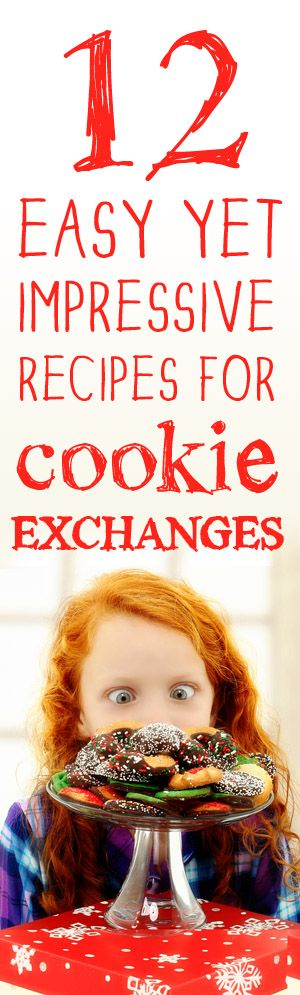 12 Easy Yet Impressive Recipes for Cookie Exchanges | #christmascookies #baking #holidays