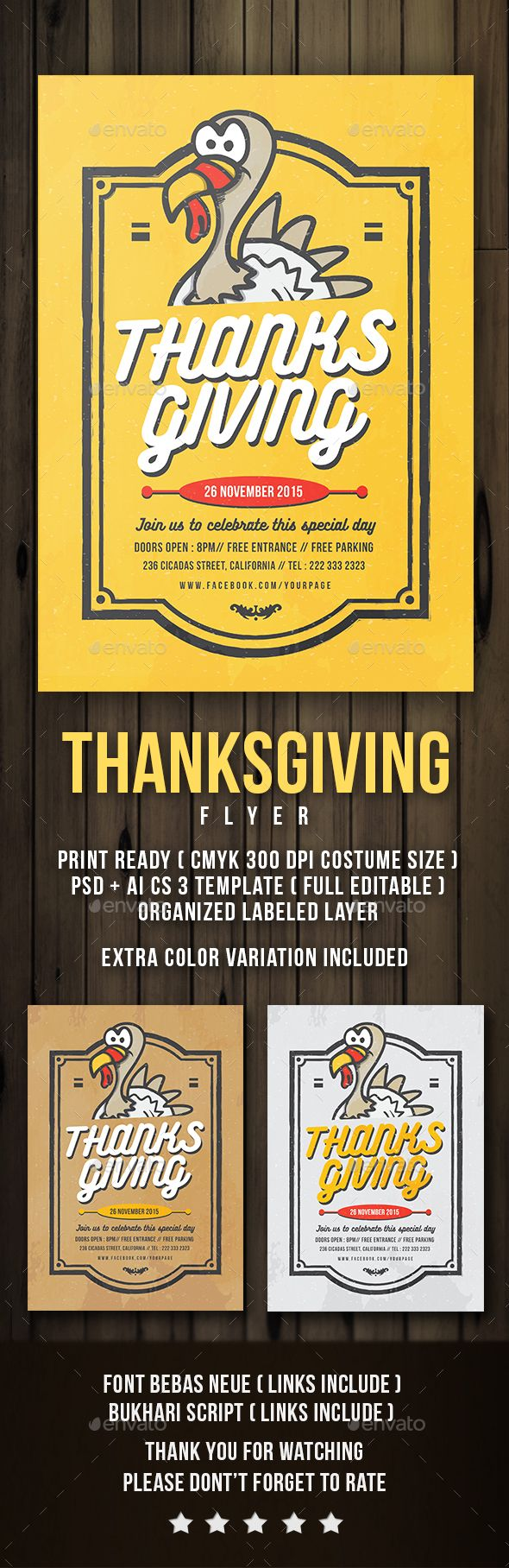 flyer thanksgiving flyers flyer template and thanksgiving. Black Bedroom Furniture Sets. Home Design Ideas