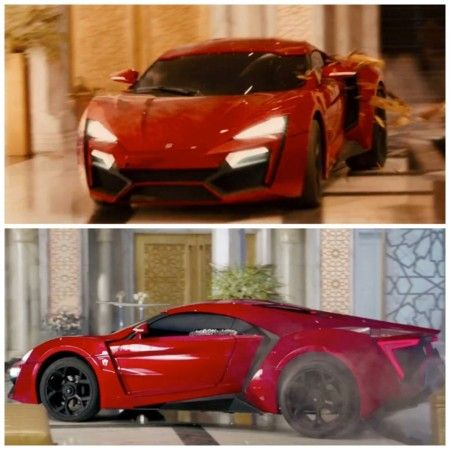 Lykan Hypersport is the new star of Fast & Furious 7. See it jumping ...