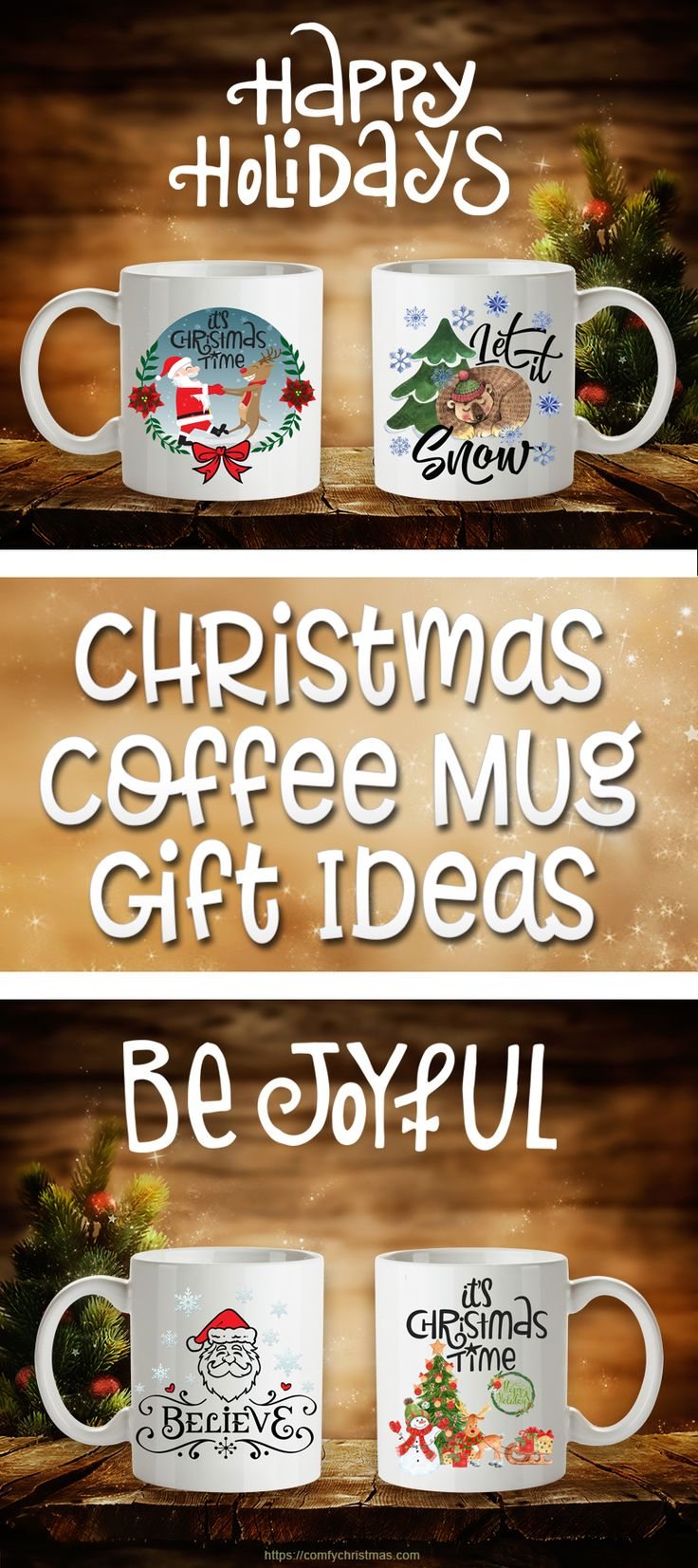 Looking for Christmas Coffee Mug Gift Ideas? You'll find plenty of unique Christmas Coffee Mugs that are NOT available in Stores and you'll also Learn How to Make Mini Gift Baskets Mugs!