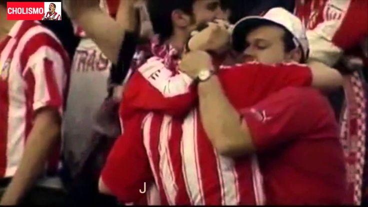 Cantico del Frente Atletico: Jamás, jamás Te dejará esta hinchada.