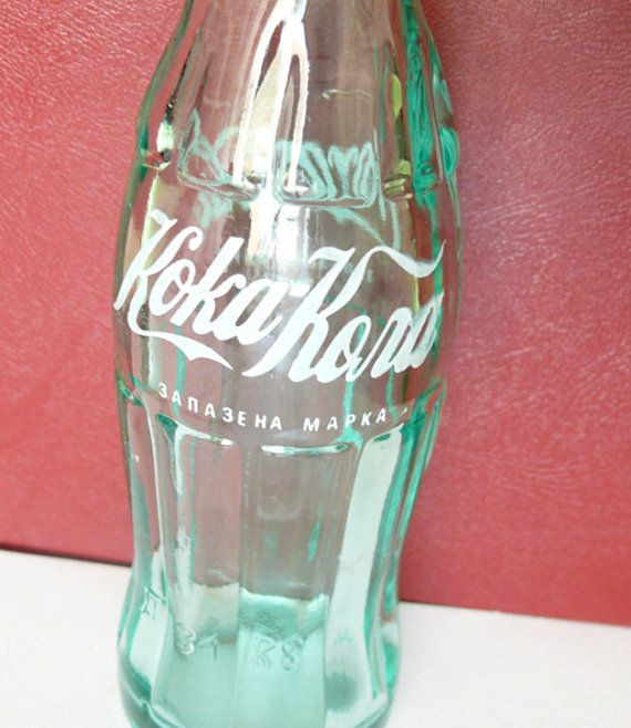 COCA COLA BOTTLE Кока Кола 1980's Very rare 200ml por oldschoolvn