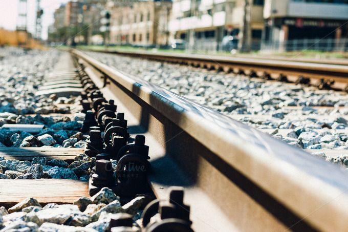 train tracks Coast by JCB Photogr@phic on @creativemarket