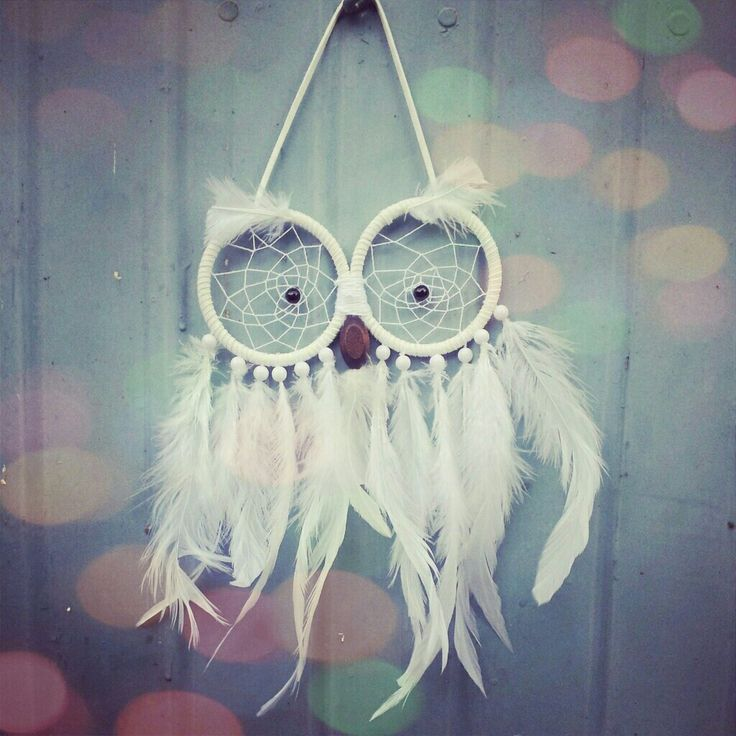 One of my Awesome creation! Owl dreamcatcher cause I Love owls! ♥