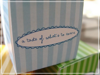 A Taste of What's to Come Box free printable