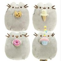 Pusheen Cat Plush Toys Cartoon Cat Stuffed Doll Kids Gift Toys 15cm