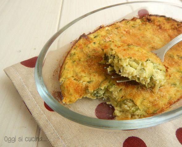 Un secondo piatto nutriente ma leggero questo pasticcio di zucchine, lo potrete servire sia caldo che freddo.