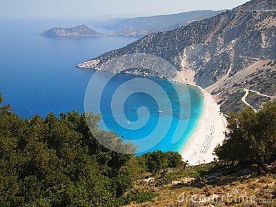 Beach of Myrtos, Kefalonia Island, Greece