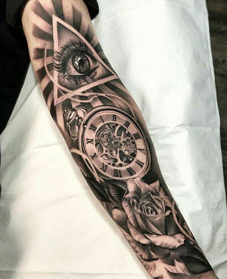 Besten tattoo motive für männer die 37 Oberarm