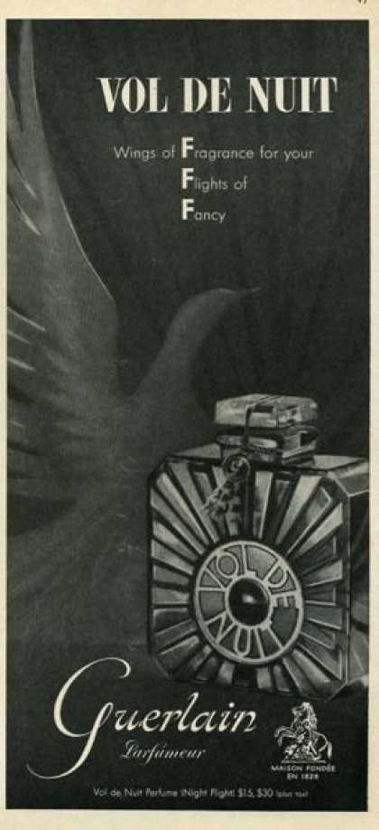 Guerlain Vol de Nuit, 1933